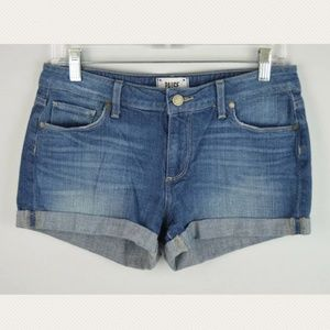 Paige 27 Jimmy Jimmy Jenner Denim Cuffed Shorts